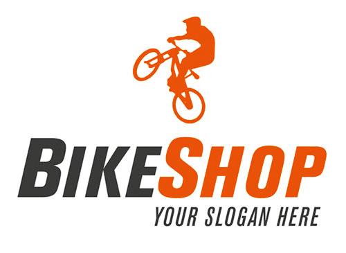 Logo für Bikeshop