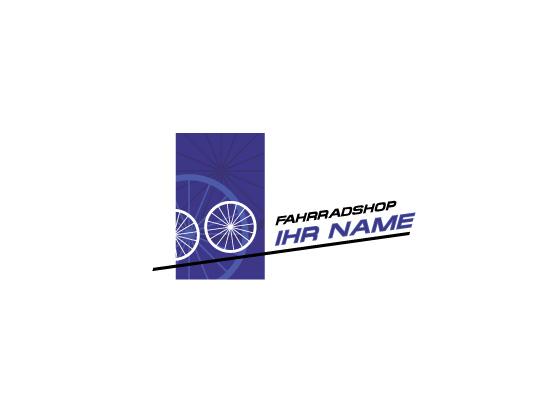 Fahrräder - Logo für Fahrradshop