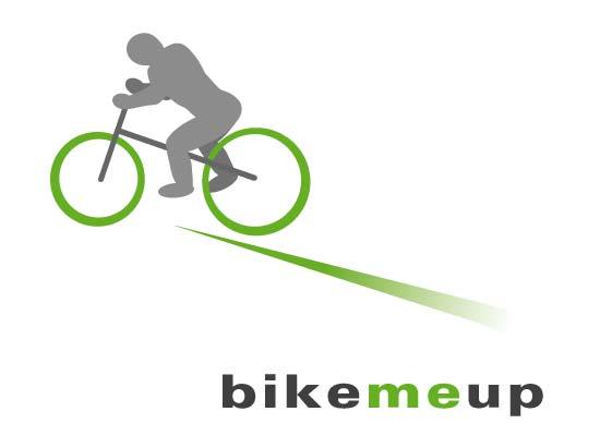 Fahrrad mit Fahrer