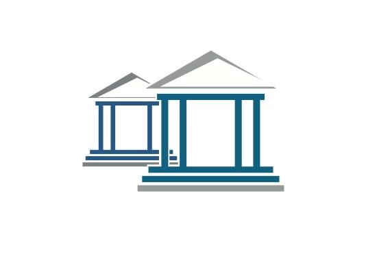 Bau, S�ulen Logo