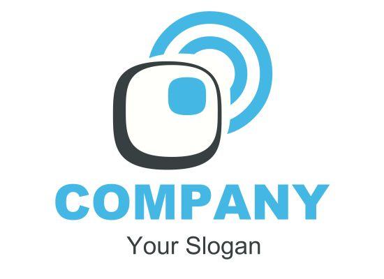Zeichen, Zeichnung, Symbol, Telekommunikation und Information Logo