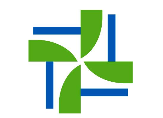 Windkraft symbol