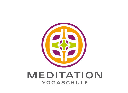 Logo Signet Zeichen Muster Yoga Meditation Schulung Logomarket