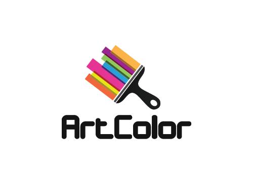 Maler Logo, Farbe Logo, Malerei Logo - logomarket