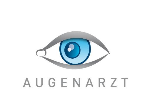Zeichen; Marke, Auge, Augapfel, Augenarzt, Augenpraxis