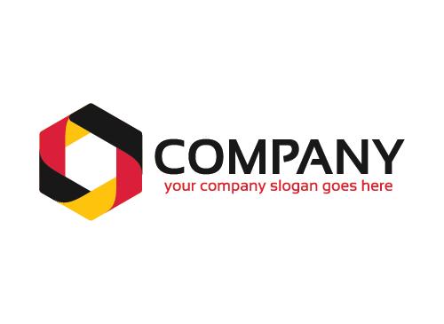Würfel Logo, Technologie Logo, Medien Logo, Daten Logo