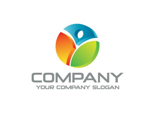 Ökologie Logo, Sport Logo, Energie Logo, Menschen Logo