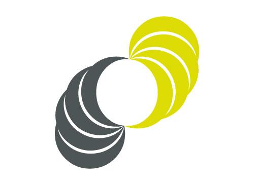 Zwei Spiralen, C, Coaching, Consulting Logo