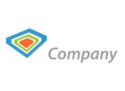 Stilisierte Rechtecke Logo