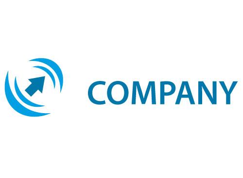 Pfeil nach oben gerichtet Logo