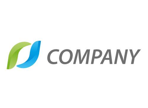 Zwei Wellen, Blätter Logo