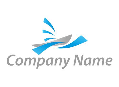 Zeichen, Zeichnung, Symbol, Segelboot, Boot, Wellen, Logo