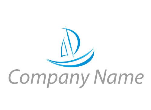 Zeichen, Zeichnung, Symbol, Segelschiff, Boot, Schiff, Segelboot, Logo
