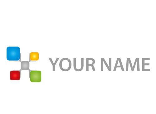 Zeichen, Zeichnung, Symbol, Rechtecke, Verbindung, Netzwerk, Logo