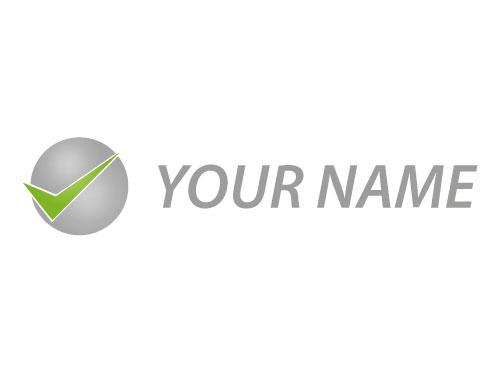 Zeichen, Zeichnung, Symbol, Kugel, Häkchen, Coaching, Consulting, Logo