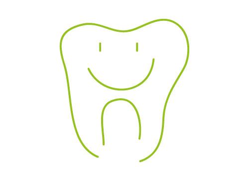 Ökozähne, Zähne, Zahn, Lächeln, Logo