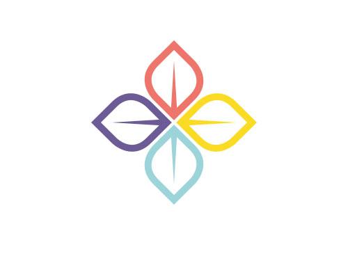 öko, Zeichen, Signet, Symbol, Lilie, Pflanze, Blume, Ornament, Logo