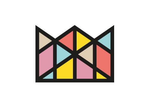 Zeiche, Signet, Symbol, Krone, Edelsteine, Logo