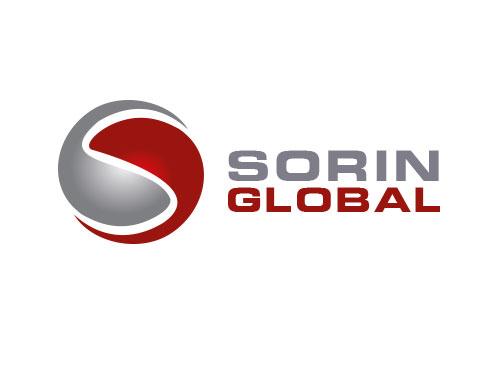 Zeichen, zweifarbig, Zeichnung, Kugel, Global, S, Logo