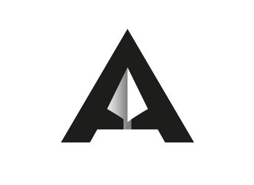 Zeichen, Zeichnung, Speer, Spitze, Pfeil, A, Logo