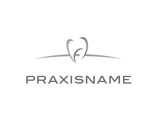 Zähne, Logo, Zahnarztpraxis, Dentallabor