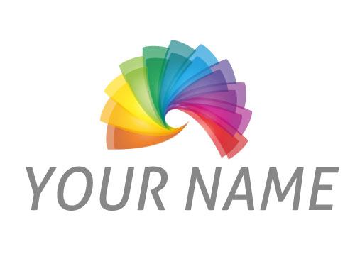 Zwei Spirale, Spektrum, Logo