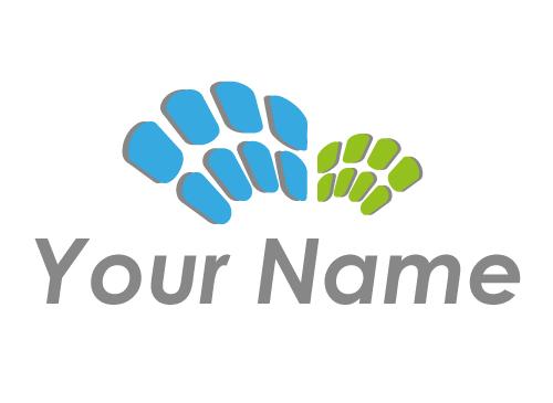 Ökologisch, Viele Kreise Logo