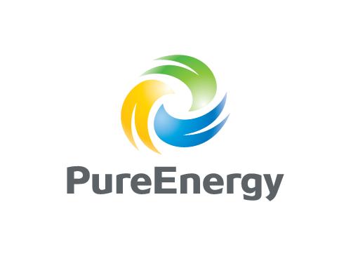 Ökologie Logo, Recycling Logo, Umwelt Logo