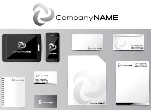 Briefpapier Design Logo Visitenkarten Briefpapier