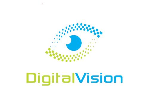 Auge Logo, Optiker Logo, Augenarzt Logo