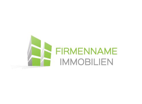 zwei immobilien architektur logo logomarket