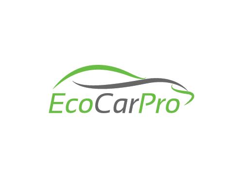 Ökologie, Auto Logo, Elektro-Auto Logo