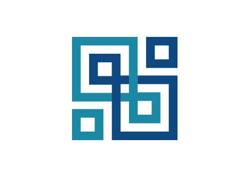 ö, Zeichen, Signet, Quadrate, Netzwerk, Investment, Finanzen, Steuern, Rechtsanwalt, Logo
