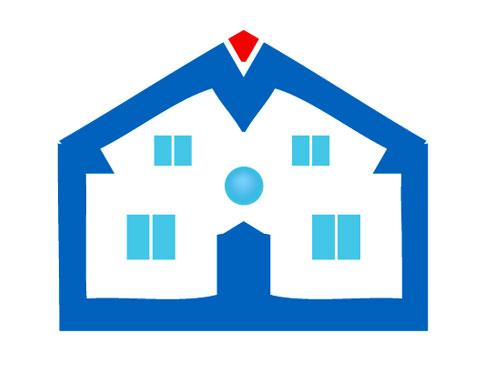 Haus Logo - Logo f�r Immobilienmakler