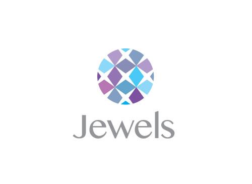 Zeichen, Signet, Logo, Juwelier, brilliant