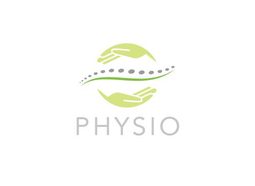 Zeichen, Signet, Logo, Physiotherapie, Orthopädie