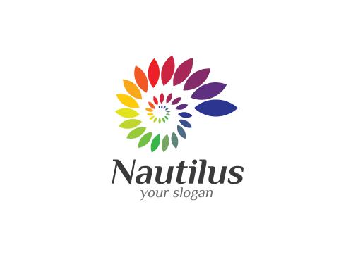 Ö, Spirale, Nautilus, Farbspektrum, Regenbogen,  Druckerei, Copyshop, Marketing, Media bunt