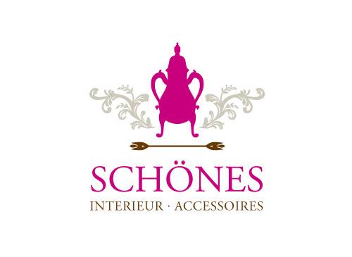 Logo für Accessoires, Einrichtung, Geschenke, Shopping, Interieur