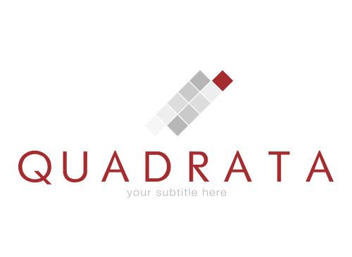 Logo aus Quadraten