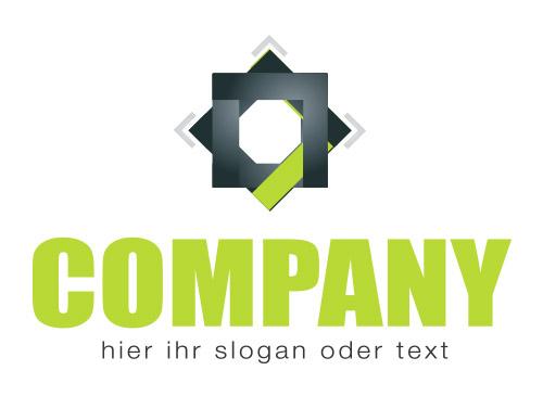 Quadratisches Logo