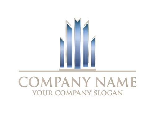 Logo, Symbol, Corporate, Immobilien, Wirtschaft, Werbung, Marketing, Finanzen