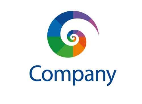 Farbspektrum Spirale Logo