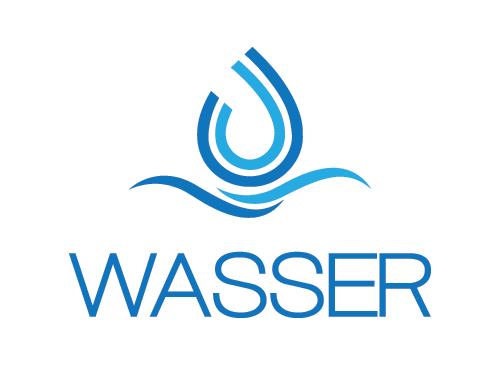 Logo, Wasser, Getränke, Mineralwasser, abgefüllt, Beschaffung ...