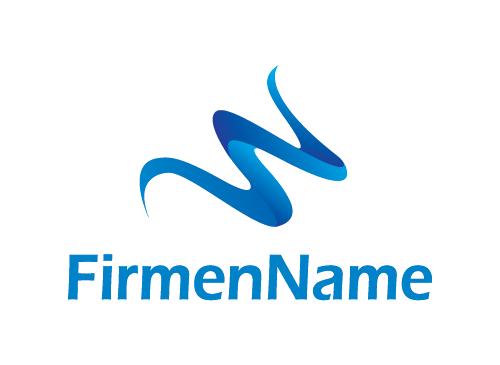 Logo, Wasser, Getränke, Mineralwasser, welle, ozean - logomarket