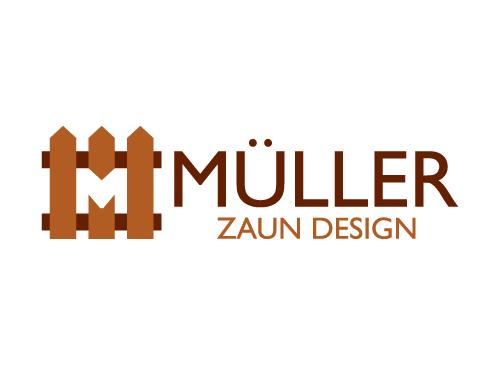 Logo Zaun Tore Tischler Haus Hof Holz Holz Master Design