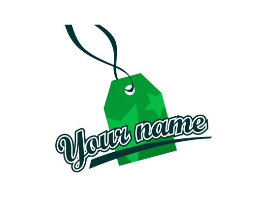 Label Etikett Logo
