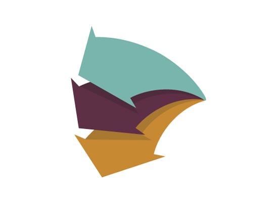 Pfeil, Pfeile, pfeilförmiges Logo