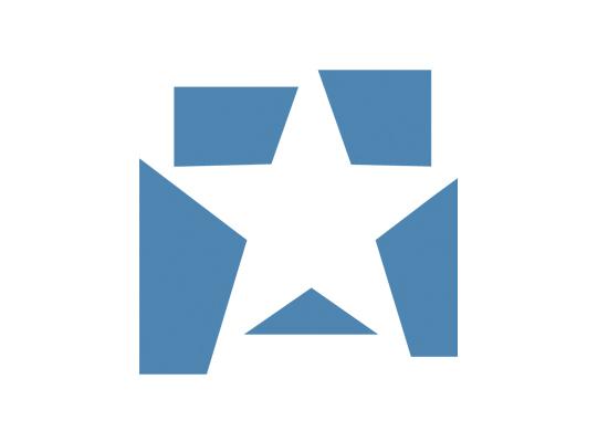 Stern aus Fragmenten
