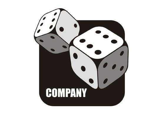 Würfelspiel - Casino Logo