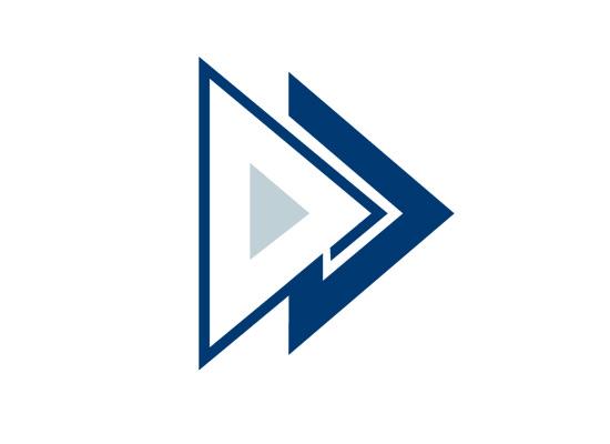 Logo mit Pfeil für Logostik